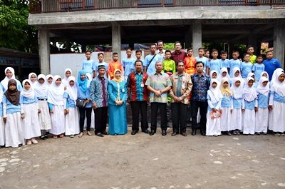 Wawali Bima Resmikan Mushola dan Lepas Pasukan Drum Band SDN 21