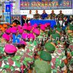 Lepas Kepergian TNI, Anggota DPR RI Syafrudin Menangis