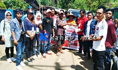 Gabim Asia Salurkan Uang Tunai Untuk Korban Banjir