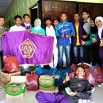 BEM STIKES Yahya Bima Peduli Korban Banjir