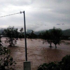 BPBD: Banjir di Sape Sudah Capai Lutut