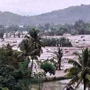 BPBD Drop Logistik untuk Warga 5 Desa di Sape