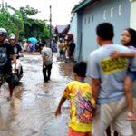 Banjir Meluap di BTN Tolotongga Kota Bima