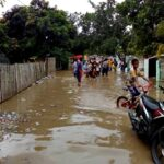 Banjir Meluap, Dua Desa di Woha Terdampak