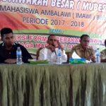 Ikatan Mahasiswa Amabalawi Gelar Mubes