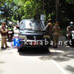 Hasil Opgab, Kendaraan Dinas Banyak Tidak Taat Aturan