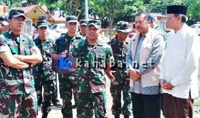 Pastikan Bantuan TNI Lancar, Pangdam IX Udayana Kunjungi Kota Bima