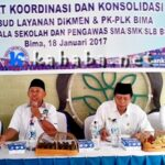 UPT Dikbud NTB Gelar Rakor Perdana