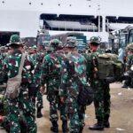 Tugas di Kota Bima Usai, Prajurit TNI Pulang ke Pangkalan Induk