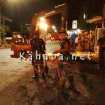 TNI Kerja Siang Malam Bersihkan Sampah dan Lumpur Sisa Banjir