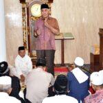 Jumat Khusyu di Desa Kananga, H. Dahlan Paparkan Kamtibmas