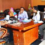 Bahas Anggaran Pilkada, Ketua KPU Temui Walikota Bima