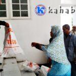 Bantuan Banjir di Aula Pemkot Disalurkan