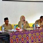 BBGRM di Ambalawi, Bupati Dengarkan Laporan Kades