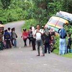 Tak Kuat Nanjak, Bus Jurusan Tente – Karumbu Tergelincir