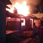 3 Rumah di Desa Kananga Hangus Dilahap Api