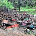 Angin Kencang di Wera, Satu Rumah Hancur, Puluhan Rumah Rusak