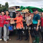PSMTI Salurkan Bantuan Korban Banjir di Woha