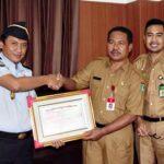 Pemkot Bima Dapat Penghargaan dari Kementerian Hukum dan HAM