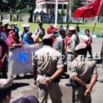 Bantuan Banjir Dinilai tidak Transparan, Warga Rabadompu Demo Pemkot Bima