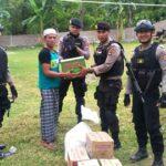 Patroli dan Peduli, Polisi Bagi-Bagi Sembako
