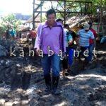 Camat Rasanae Barat dan Lurah Tinjau Kondisi Pasca Banjir