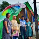 Lutfi Prihatin Masih Ada Warga Hidup di Tenda