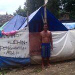 Pasca Banjir, 4 Kepala Keluarga ini Masih Hidup di Tenda