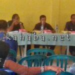 Kades Maria Sampaikan LKPPD Dihadapan Paripurna BPD