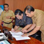 Walikota Bima Tanda Tangan Nota Kesepahaman dengan BPS