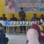 Raihan Anwar Reses di Kecamatan Wawo