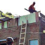 Angin Puting Beliung Hantam 30 Rumah di Desa Campa
