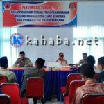 BPBD dan FPRB Sosialisasi Penanganan Bencana