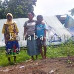 Rupanya, di Monggonao 9 Warga Masih Hidup di Tenda