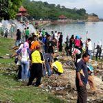 Jelang Festival Pantai Kalaki, SKPD Gelar Jumat Bersih