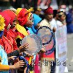 Ribuan Warga Ramaikan Pawai Budaya HUT Kota Bima ke-15