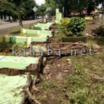 Diterjang Banjir Satu Meter, Pagar SDN Rada Roboh