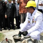 Peletakan Batu Pertama Masjid Terapung, Walikota: Masjid ini Ikon Daerah