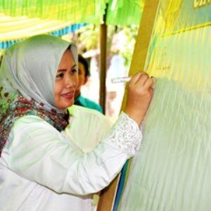 Kerjasama dengan KNPI, Bupati Gelar Deklarasi Cintai Damai