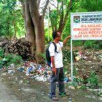 Sampah Menumpuk di Gunung Wadu Ntanda Rahi