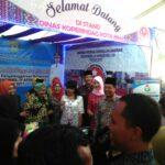 Apeksi di Mataram, Dinas Koperindag Kota Bima Pamer Produk Unggulan