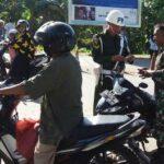 Operasi Patuh Gatarin, Polres Bima Imbau Masyarakat Taat Aturan