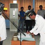 Bupati Lantik 62 Pejabat Struktural Lingkup Kesehatan