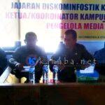 Media Online Diharapkan Melapor Legalitas ke Diskominfostik