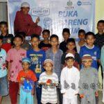 100 Anak Yatim Bukber dengan PKPU Bima