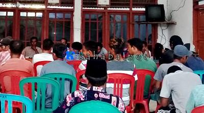 Sorot Penggunaan Dana Desa, FMPK Audiensi Dengan Kades Ntori
