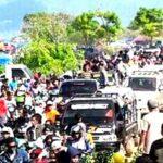 Pengunjung Lariti Membludak, Kemacetan Hingga 7 Kilometer
