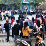 Mahasiswa STIE Bima Bazar Takjil di Kampus