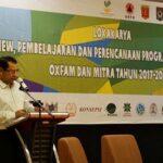 Walikota Bima Berbagi Pengalaman Penanganan Banjir Pada Workshop Oxfam