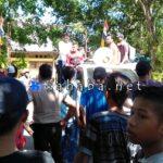 Desak Bangun Jembatan, AMB Gelar Aksi di Kantor Camat Belo